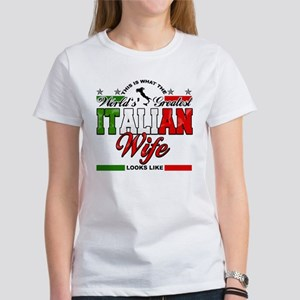 World's Greatest Italian Wife Women's T-Shirt