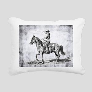 Ranch Hand Rectangular Canvas Pillow