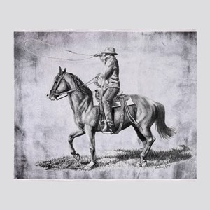 Ranch Hand Throw Blanket