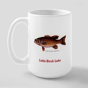 134 Smallmouth bass Large Mug