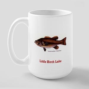 128 Large mouth bass Large Mug