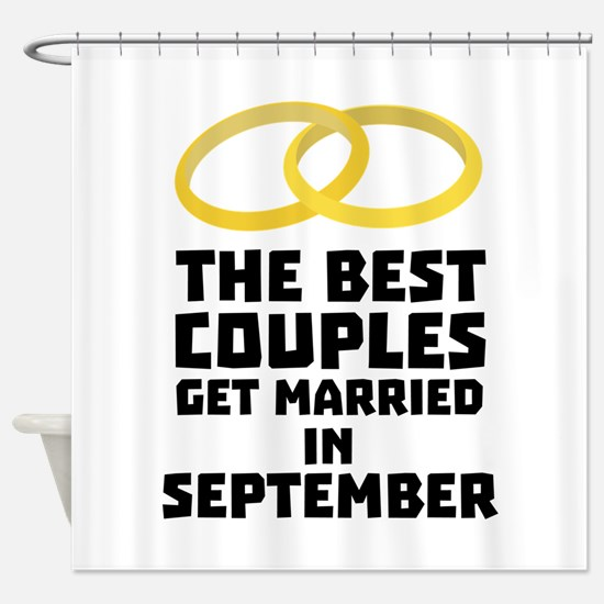 The Best Couples in SEPTEMBER C7s21 Shower Curtain