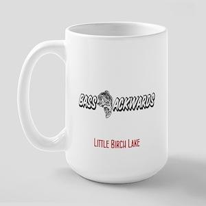 115 Bass Ackwards Large Mug