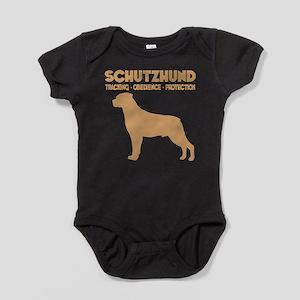 SCHUTZHUND ROTT Baby Bodysuit