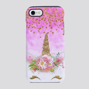 Fantasy Pink Unicorn iPhone 8/7 Tough Case