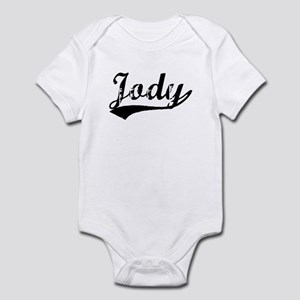 Vintage Jody (Black) Infant Bodysuit