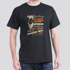 Meat Smoking Grill Master T Shirt T-Shirt