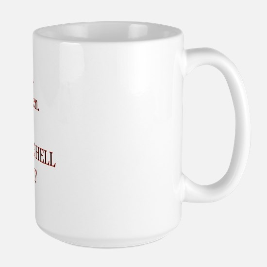 Red Head Large Mug