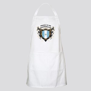 Proud to be Guatemalan BBQ Apron