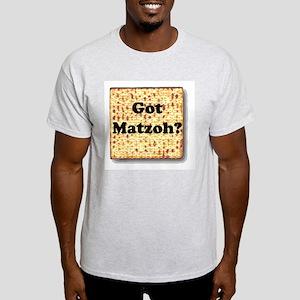 Got Matzoh? Ash Grey T-Shirt