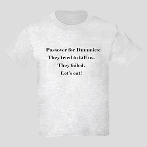 Passover for Dummies Kids Light T-Shirt