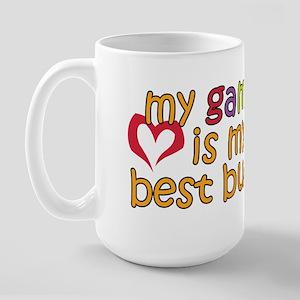 Gampa is My Best Buddy Large Mug