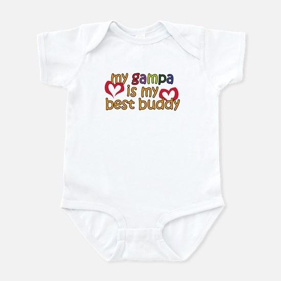 Gampa is My Best Buddy Infant Bodysuit