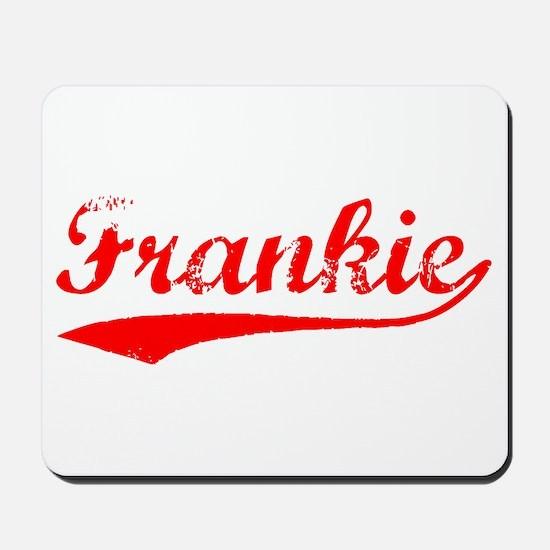 Vintage Frankie (Red) Mousepad
