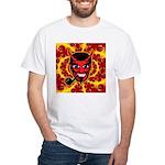 Satanic SubGenius Devil-Bob White T-Shirt