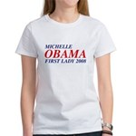 Michelle Obama First Lady 2008 Women's T-Shirt