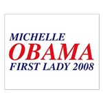 Michelle Obama First Lady 2008 Small Poster