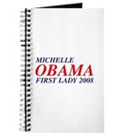 Michelle Obama First Lady 2008 Journal