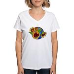 Sunflower Planet Women's V-Neck T-Shirt