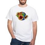 Sunflower Planet White T-Shirt