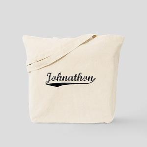 Vintage Johnathon (Black) Tote Bag