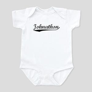Vintage Johnathon (Black) Infant Bodysuit