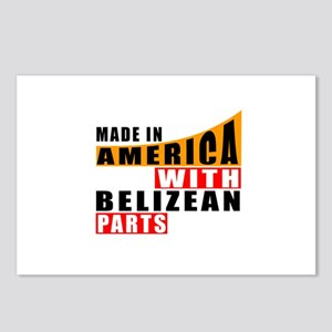 Made In America With Beli Postcards (Package of 8)