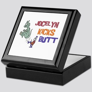 Jocelyn Kicks Butt Keepsake Box