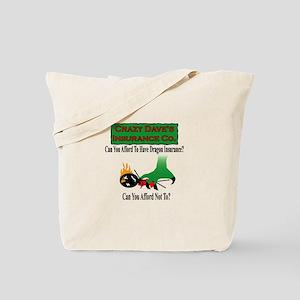 Dragon Insurance Tote Bag