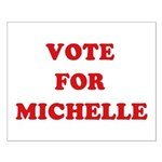 Vote for Michelle Small Poster