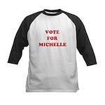Vote for Michelle Kids Baseball Jersey