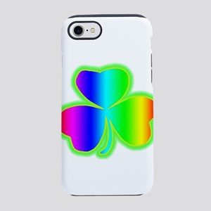 rainbowshamrock iPhone 8/7 Tough Case