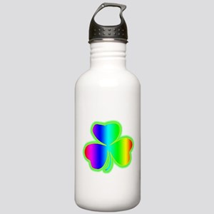 rainbowshamrock Water Bottle