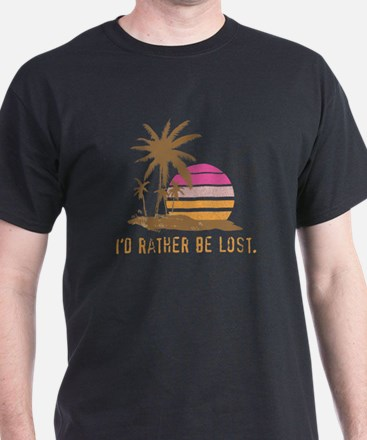 Rather Be Lost Island T-Shirt