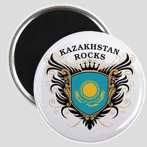 Kazakhstan Rocks Magnet