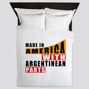 Made In America With Argentinean Parts Queen Duvet