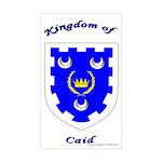 Kingdom of Caid Rectangle Sticker
