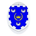 Kingdom of Caid Oval Ornament