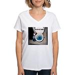 Bad Housekeeper Women's V-Neck T-Shirt