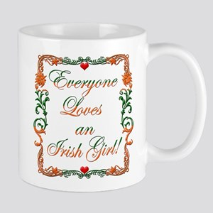 Loves Irish Girl Mug