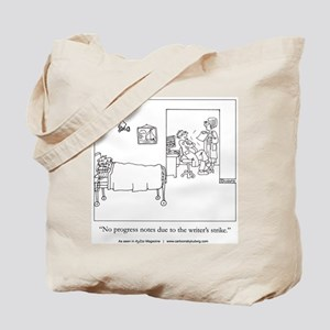 Writers Strike Tote Bag
