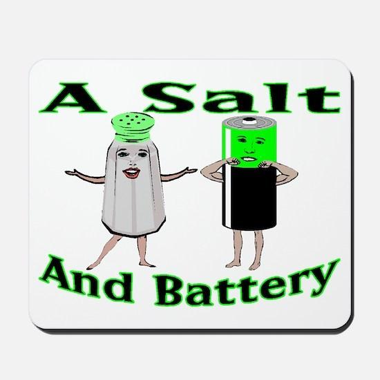 A Salt And Battery Mousepad
