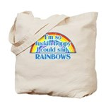 Happy Rainbows Tote Bag