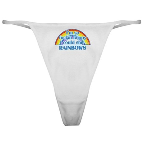 Happy Rainbows Classic Thong