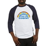 Happy Rainbows Baseball Jersey
