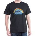 Happy Rainbows Dark T-Shirt