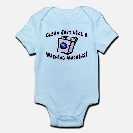 Washing Machine Infant Bodysuit