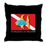 Nothing but bubbles Throw Pillow