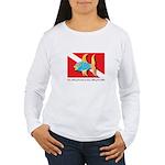 Nothing but bubbles Women's Long Sleeve T-Shirt