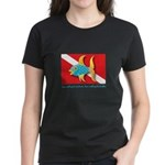 Nothing but bubbles Women's Dark T-Shirt